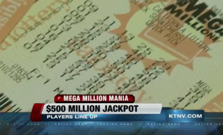 Mega Millions Jackpot: $540M Up For Grabs Tonight!