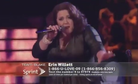 """Erin Willett - """"Living For the City"""" (The Voice)"""