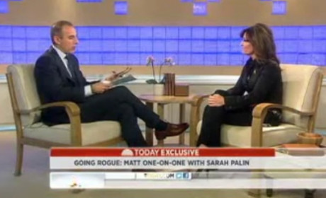 Sarah Palin on Today Show