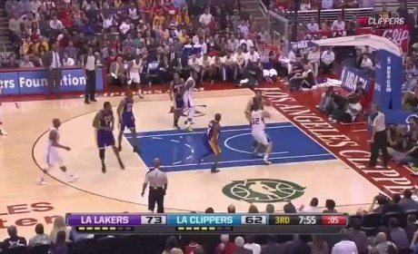 Blake Griffin Dunk Over Pau Gasol