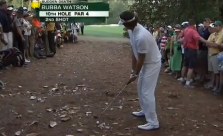 Bubba Watson Wins The Masters in Playoff Over Louis Oosthuizen