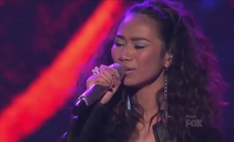 "Jessica Sanchez - ""Try A Little Tenderness"""