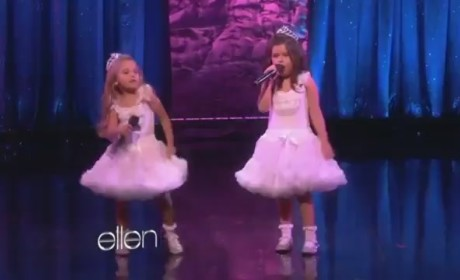 Sophia Grace & Rosie - Starships (Live on Ellen)