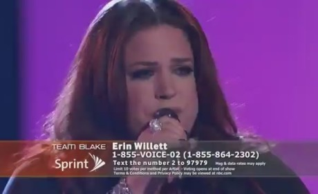 """Erin Willett - """"Without You"""" (The Voice)"""