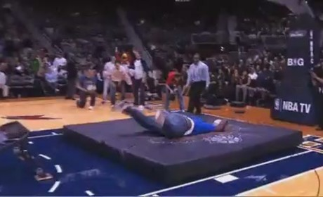 Epic Basketball Dunk FAIL