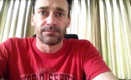 Jon Hamm Answers Rookie Reader Questions