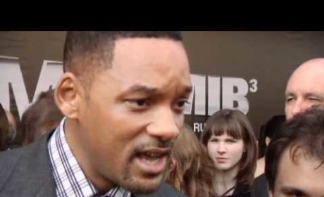 Will Smith Shoves Reporter