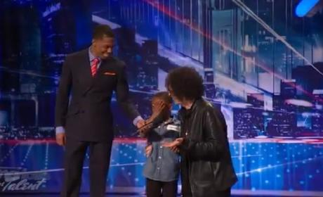 Howard Stern Comforts Crying America's Got Talent Contestant [Video]