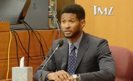 Usher Testifies in Court