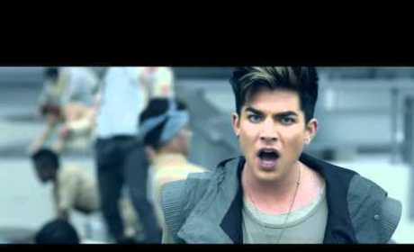 "Adam Lambert - ""Never Close Our Eyes"" (Official Music Video)"