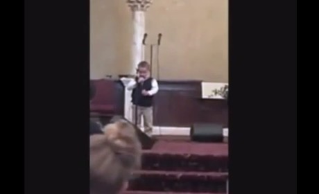 Little Kid Sings Anti-Gay, Hate-Filled Song in Church, Crowd Goes WILD
