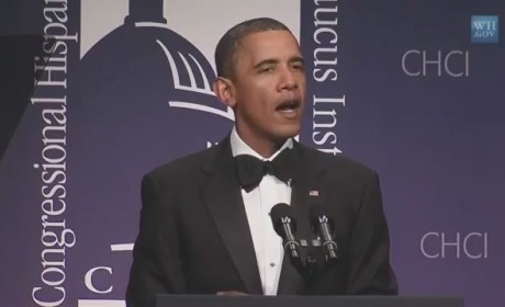 "President Obama Sings ""Call Me Maybe"""