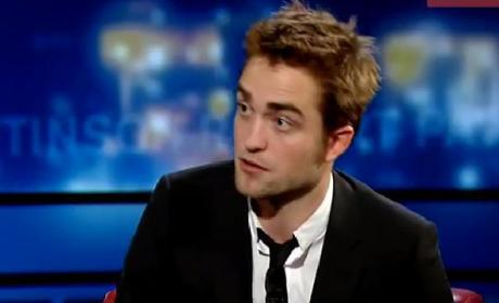 Robert Pattinson on George Stroumboulopoulos Today