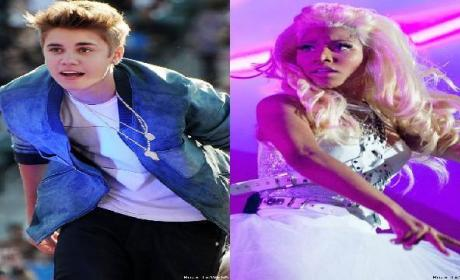 "Justin Bieber (ft. Nicki Minaj) - ""Beauty and a Beat"""