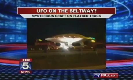 UFO on Beltway in Washington, DC?