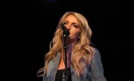 Jamie Lynn Spears - I Look Up to You (Live)