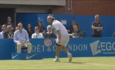 David Nalbandian Kicks Official