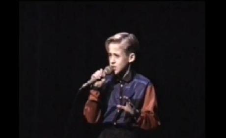 Ryan Gosling as a 10-Year Old