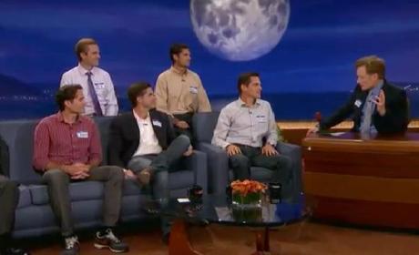 Mitt Romney Sons Prank Dad on Conan