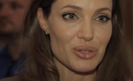 Angelina Jolie at Sarajevo Film Festival