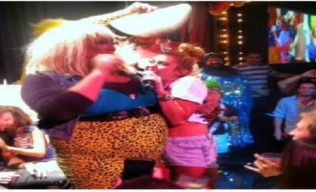 Miley Cyrus Serenades Drag Queen