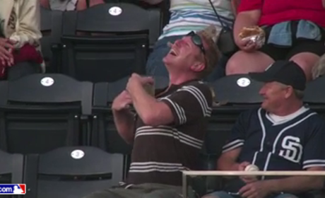 Travis Decker, Clueless San Diego Padres Fan, Drilled By Foul Ball in Mid-Facebook Update