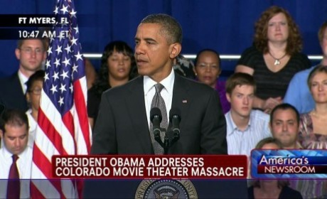 "President Obama Speaks on Colorado Movie Theater Tragedy: ""Life is Very Fragile"""