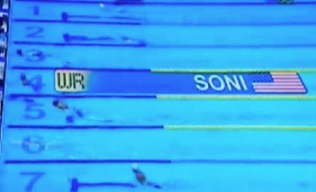 Rebecca Soni Breaks World Record
