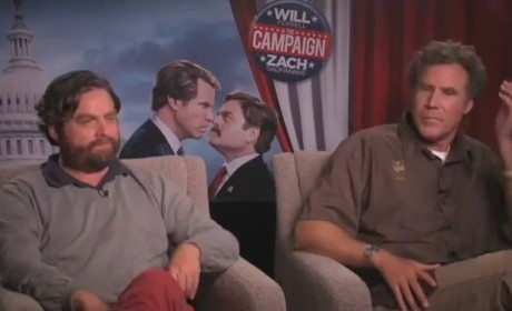 Will Ferrell, Zach Galifianakis Audition For Fifty Shades of Grey Roles