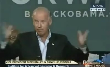 Joe Biden: Romney Will 'Put Y'all Back In Chains'