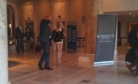 Lady Gaga Bodyguard Hits Fan