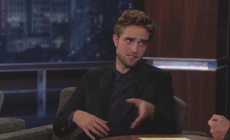 Robert Pattinson on Jimmy Kimmel Live (Part 3)