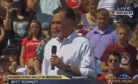 Mitt Romney Makes Obama Birth Certificate Joke