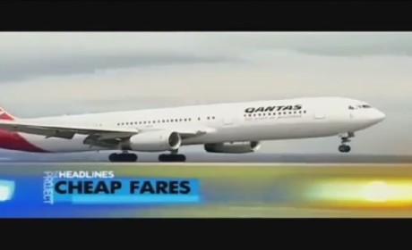 Australian News Anchor Mispronounces Qantas, Co-Anchor Responds Like a Boss