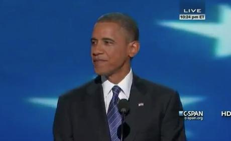 Barack Obama Democratic National Convention Speech 2012