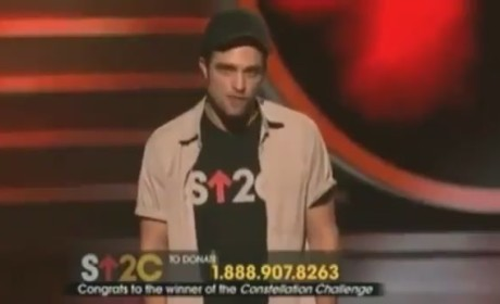 Stand Up to Cancer: Robert Pattinson Makes Plea