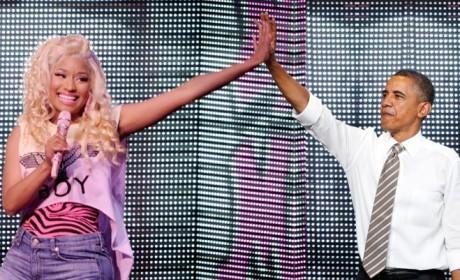 Barack Obama Talks Nicki Minaj, Perceived Democratic Diss