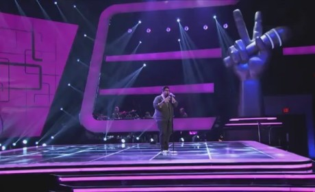 Daniel Rosa - Somebody That I Used to Know (The Voice Blind Audition)