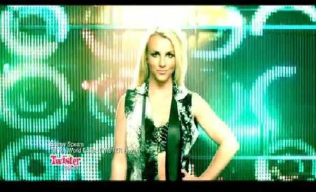 Britney Spears Twister Dance Commercial (Till The World Ends Remix)