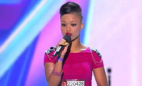 Paige Thomas on The X Factor: The Next Rihanna?
