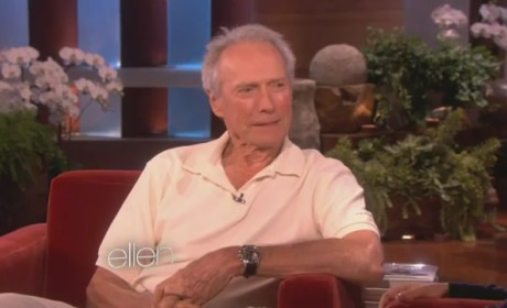Clint Eastwood on Ellen: Democrats Think I'm Senile!