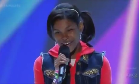Diamond White X Factor Audition