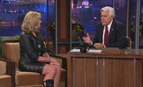 Ann Romney Tonight Show Clip - Meeting Mitt