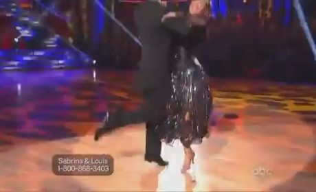 Sabrina Bryan - Dancing With the Stars Week 2