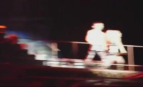 Lady Gaga Vomits on Stage