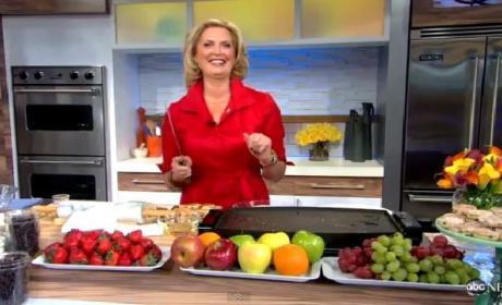 Ann Romney Makes Welsh Cakes on Good Morning America