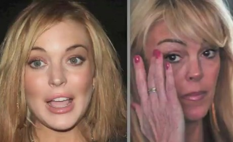 Lindsay Lohan Call to Michael Lohan About Coked-Up Dina Lohan