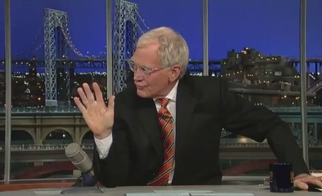David Letterman Predicts Romney Defeat