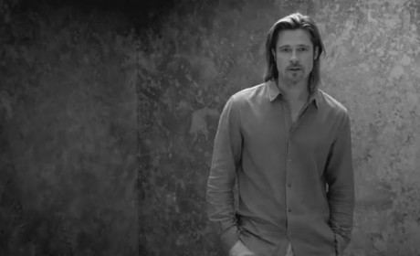 Brad Pitt Chanel No. 5 Ad: There You Are!