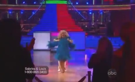 Sabrina Bryan - Dancing With the Stars Week 4